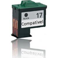 Cartucho Compatível Lexmark 17 Black - Lexmark Z23 X75 Z25 Z35 Com 9Ml