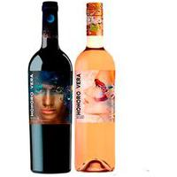 Vinho Rose Vegano Honoro Vera Tempranillo/Sirah 2019 + Vinho Tinto Vegano Honoro Vera Tempranillo Rioja 2018