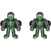 Paul Smith Abotoaduras De Esqueletos - Verde