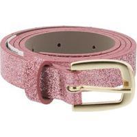 Cinto Infantil Stz Glitter Rosa