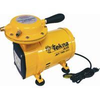 Compressor De Ar Cd 2.4 Com Motor Elétrico De 1/2 Hp E Capacidade De 135 Litros/Minuto- Tekna