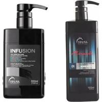 Kit Truss 1 Shampoo Bidimensional 1000Ml + 1 Infusion 650Ml - Feminino-Incolor
