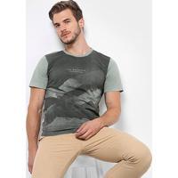 Camiseta Treebo Mountain Masculina - Masculino-Verde Escuro