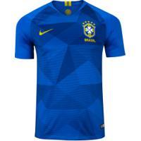 Camisa Da Seleção Brasileira Ii 2018 Nike - Masculina - Azul/Amarelo