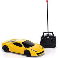 Carrinho Unik Toys Com Controle Remoto Amarelo