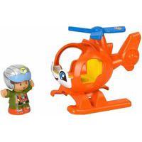 Little People Helicóptero Com Boneco - Mattel