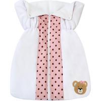 Porta Bebê Padroeira Baby Mimos Rosa