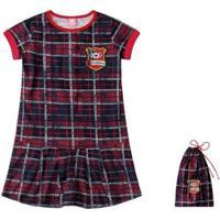 Camisola Bebê Lilica Ripilica - Feminino-Vermelho