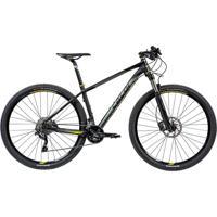"Bicicleta Mtb Caloi Blackburn Aro 29 - Susp Dianteira - Quadro 15"""" - 20 Velocidades - Preto"