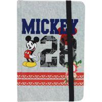 Caderno De Anotações Mickey Rendas - Zona Criativa