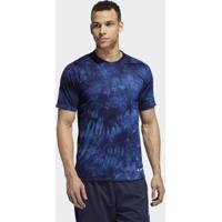 Camiseta Parley 3 Stripes M Adidas - Masculino