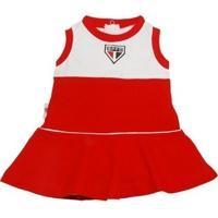 Vestido São Paulo Bebê Infantil Regata Revedor