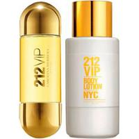 Kit Perfume 212 Vip 30Ml + Body Lotion 200Ml