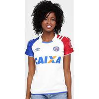 Camisa Bahia I 17/18 Nº 10 Torcedor Umbro Feminina - Feminino