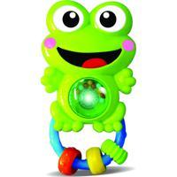 Brinquedo Zoop Toys Chocalho Sapo