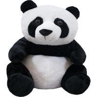 Pelúcia Minas De Presentes Panda Branco - Kanui