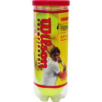 Terno Bolas De Tênis Wilson Kit C/ 3 Bolas