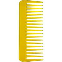 Pente De Cabelo Océane Femme Color Comb Wide Amarelo - Feminino-Amarelo