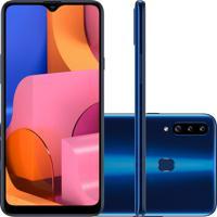 Smartphone Samsung Galaxy A20S 32Gb A207 Desbloqueado Azul