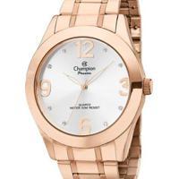 Relógio Champion Feminino - Feminino-Rosa+Dourado