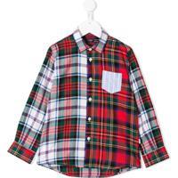 Il Gufo Camisa Xadrez - Vermelho