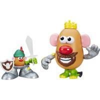Figura Mashup Playskool - Mr. Potato Head - Cavaleiro - Hasbro - Unissex-Incolor