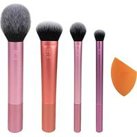 Kit Everyday Essentials Real Techniques - Feminino-Ouro Rosa