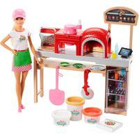 Barbie Pizzaiola Playset - Mattel - Tricae