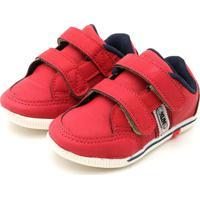 Sapato Klin Menina Flyer Vermelho