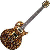 Guitarra Elétrica Les Paul Thomaz Teg-350 Laranja