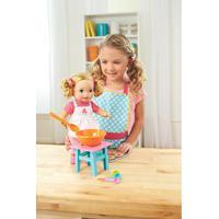 Boneca Little Mommy - Pequena Chef - Mexe Os Bracinhos - Mattel - Feminino-Incolor