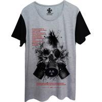 Camiseta Corvuz Radioative Cinza Mescla