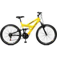Bicicleta Master Bike Aro 26 Masculina Kanguru Style 21 Marchas A-36 Amarelo