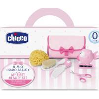 Meu Primeiro Kit De Cuidados Para Bebê Girl (0M+) - Chicco Ch5162 Conjunto De Higiene Menina (0M+)