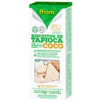Biscoito Tapioca Com Coco 30G - Fhom