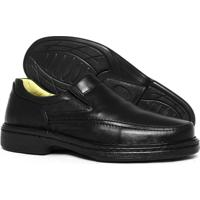 Sapato Masculino Conforto 2001 - Masculino-Preto
