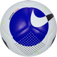 Bola De Futsal Nike Pro - Branco/Azul