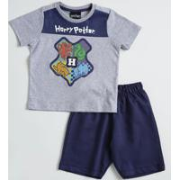 Conjunto Infantil Estampa Harry Potter Warner Bros