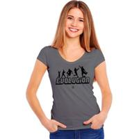 Camiseta Soccer Evolution - Feminino