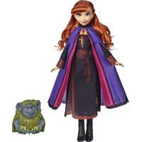Boneca Frozen 2 Amigos Anna E Pabbie - Hasbro