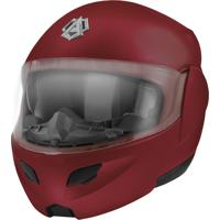 Capacete Tipo Robocop Pro Tork Attack Elite Candy Red