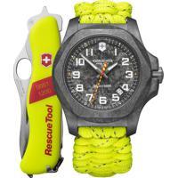 Relógio Victorinox Swiss Army Masculino Paracord Amarelo Neon - 241858