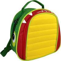 Lancheira Infantil Mumagi Jacaré Jack Masculino - Masculino-Amarelo+Verde