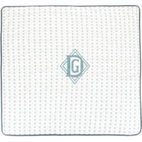 Dolce & Gabbana Kids Cobertor Com Estampa De Coroa - Branco