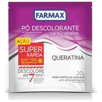 Pó Descolorante Capilar Farmax Queratina Com 20G 20G