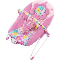 Cadeira De Descanso Floral- Rosa Claro & Azul Claro-Bright Starts
