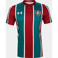 Camisa Fluminense I 19/20 S/N° Torcedor Under Armour Masculina - Masculino