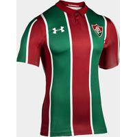 Camisa Fluminense I 19/20 S/N° Torcedor Under Armour Masculina - Masculino