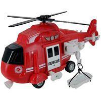Helicóptero De Resgate Com Luz E Som 1:16 Helicóptero De Resgate Com Luz E Som 1:16
