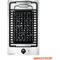 Cooktop Eletrico Brastemp Com 01 Boca, Acendimento Super Automatico Em Inox - Bdh31Ar